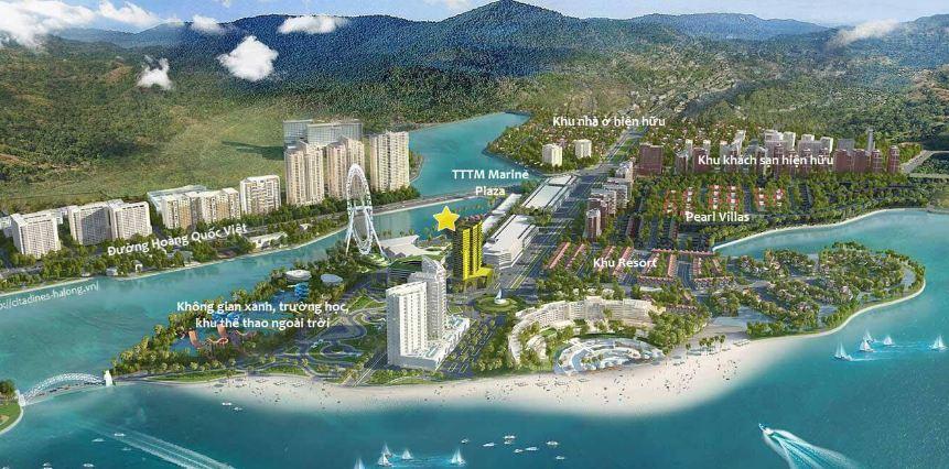Vị trí Condotel BIM Group Hạ Long